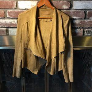 Jackets & Blazers - Bowen suede zip up jacket